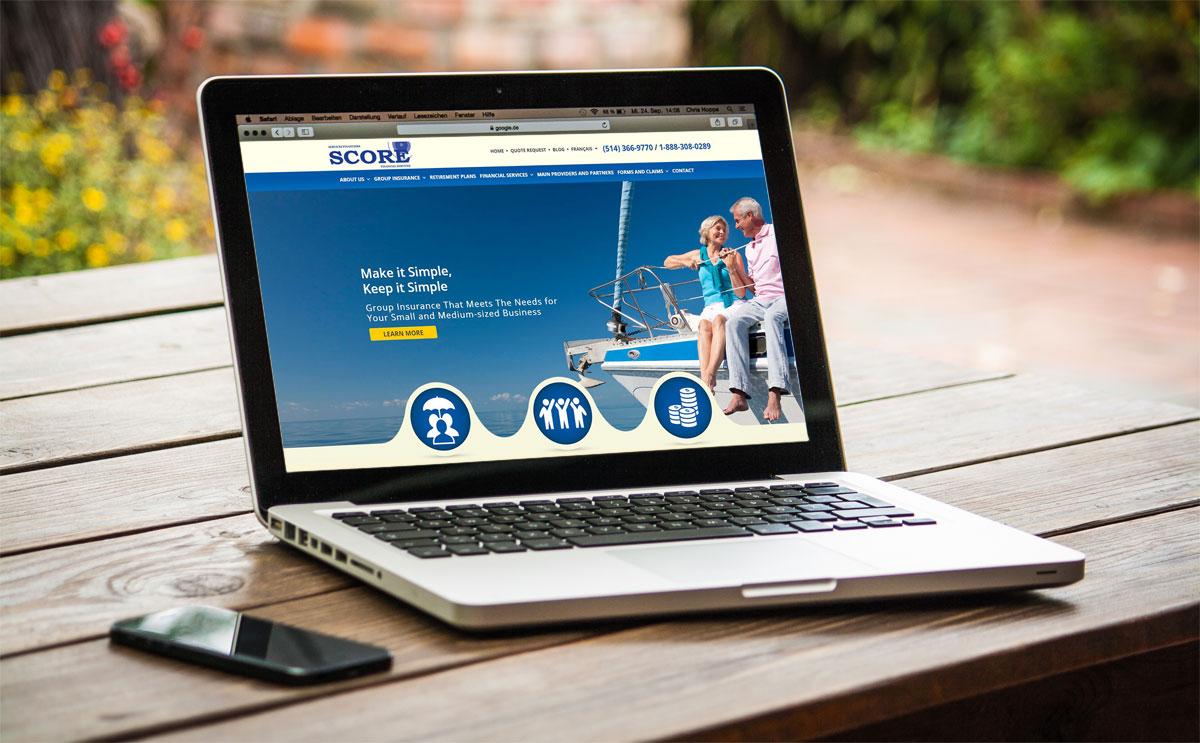 Annonce du lancement de notre nouveau site web corporatif